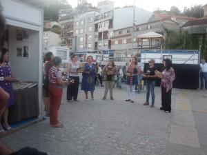 Actuación das Cantareiras da Escola de Música Tradicional