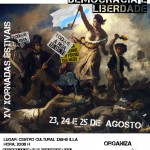 xv Xornadas Estivais, Revolución 2.0: Democracia e Liberdade