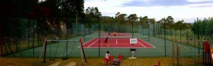 Pistas de tenis do Monte Baldío